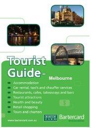 Melbourne Tourist Guide 2012_02 - Bartercard Travel