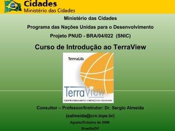 CURSO TERRAVIEW - Escola de Arquitetura - UFMG