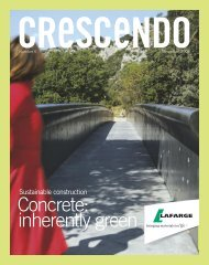 Crescendo n° 6 version anglaise - Lafarge Cement