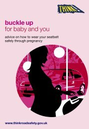 Buckle up for Baby and You - Think! - Gov.uk
