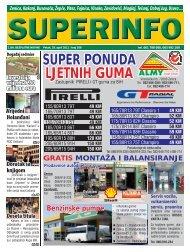 SUPER PONUDA LJETNIH GUMA - Superinfo