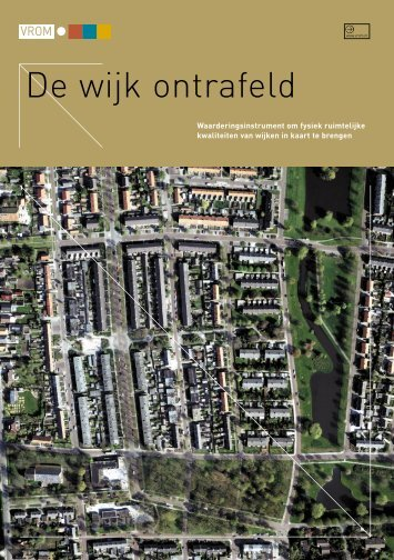 De wijk ontrafeld (pdf-bestand) - Kennisbank