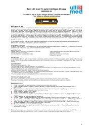 Test ulti med H. pylori Antigen Urease - ulti med Products