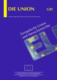 Zeitschrift Die Union 1_01 - Ludwig Boltzmann Institut für ...