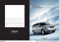 Catálogo del Chrysler Grand Voyager - enCooche.com