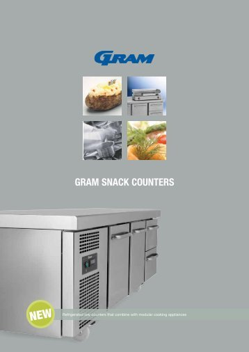 GRAM SNACK COUNTERS - GRAM Commercial