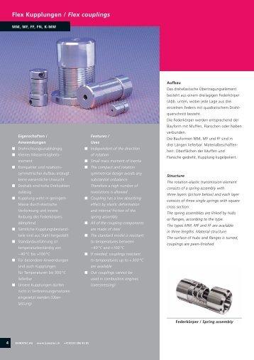 Flex Kupplungen / Flex couplings - TRADELINK  SERVICES