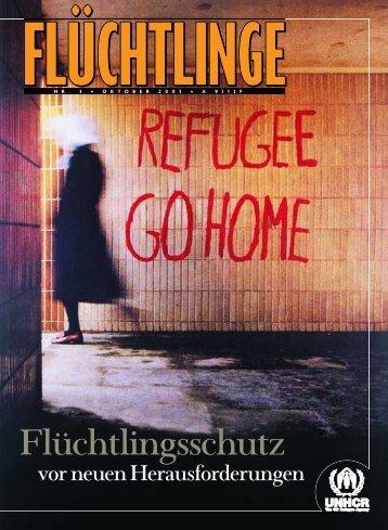 """Heft 3/2003: """"Flüchtlingsschutz vor neuen Herausforderungen"""" - unhcr"""