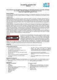 Een snelle test voor de kwalitatieve opsporing van - ulti med Products