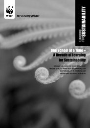 One School at a Time - WWF UK