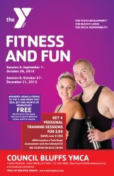 FITNESS AND FUN - Council Bluffs YMCA