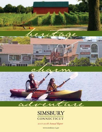 Simsbury Annual Report 2007 - 2008 - Town of Simsbury