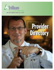 Specialist Lane County - Trillium Medicaid Home Page