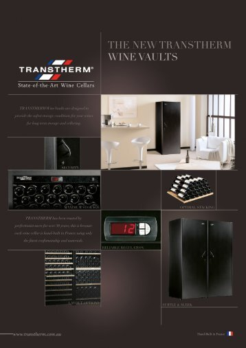the new tRanstheRM wine vaults