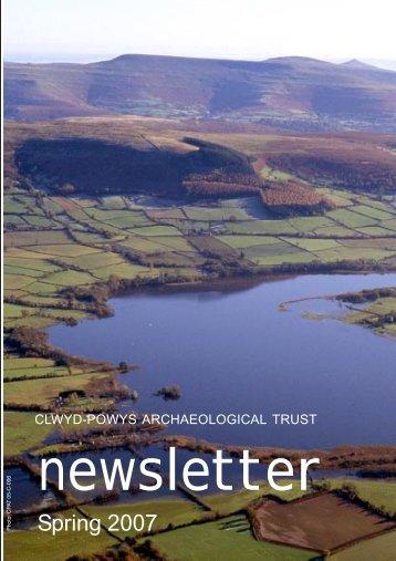 Spring 2007 issue - Clwyd-Powys Archaeological Trust