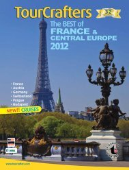 TourCrafters TourCrafters FRANCE & CENTRAL EUROPE