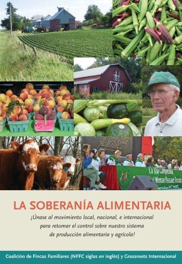 Soberanía Alimentaria - Grassroots International