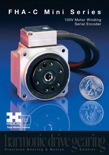 FHA-C Mini Series (Rev 5/11/07) - Harmonic Drive LLC