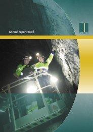 Annual report 2006 - Posiva