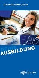 Industriekauffrau/mann - Versorgungs- und Verkehrsgesellschaft ...