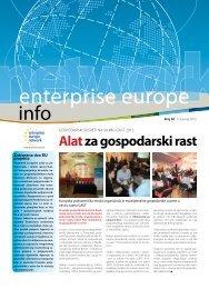 Alatza gospodarski rast - Europska poduzetnička mreža Hrvatske