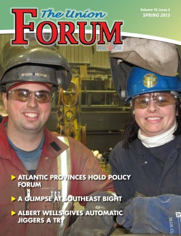 The Union Forum Spring 2013 - FFAW