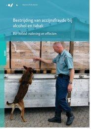Rapport Bestrijding van accijnsfraude bij alcohol en tabak - Stivoro
