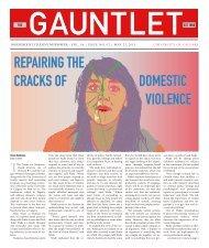 REPAIRING THE CRACKS OF DOMESTIC ... - The Gauntlet