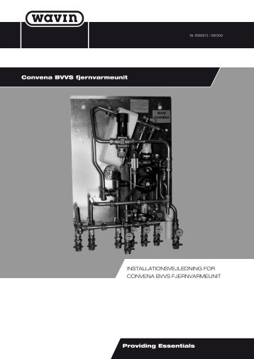 Wavin Convena BVVS - Tjele smedie & montage