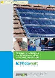 Partenaire des professionnels pour l'intégration en toiture ... - Talev