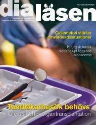 Tandläkarbesök behövs - Dialäsen