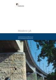 Modero 3A - Holcim Schweiz