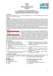 Malaria Test Plasmodium falciparum 004O082 - ulti med Products