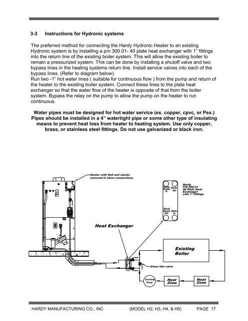 3-2 Location of Heating C on