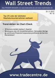 wall-street-trends-top25 (7).cdr - TradeCentre Börsenbrief