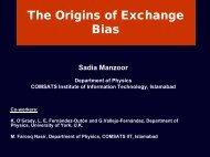 The origin of exchange Bias