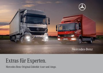 Extras für Experten. - Mercedes-Benz PRAHA