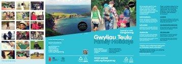 Gwyliau Teulu 2013 yn Llangrannog - Urdd Gobaith Cymru