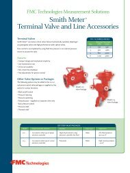 Smith Meter® Terminal Valve and Line Accessories - SICA