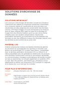 Brochure sur le stockage évolutif - Imation - Page 7