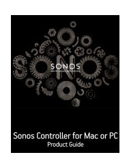 Sonos Controller for Mac or PC - Almando