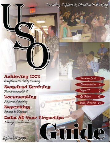 USO Guide - Lubbock - Texas Tech University Health Sciences Center