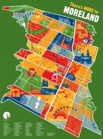 Tourism Map_back.indd - Moreland City Council