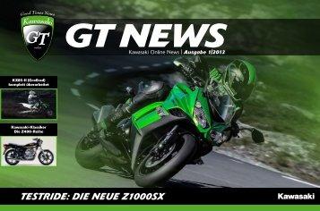 GTnews, Ausgabe 1-2013 - Kawasaki