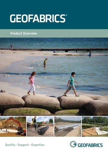 Product Overview Brochure - Geofabrics Australasia