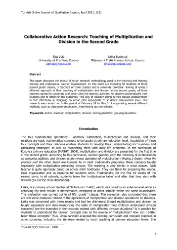 Collaborative Teaching Research ~ A collaborative action research on creating english as