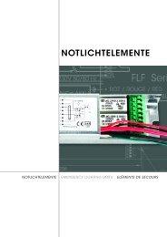 NOTLICHTELEMENTE - Huco AG