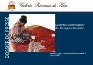Dossier de présentation générale des oeuvres ... - Art Côte d'Azur