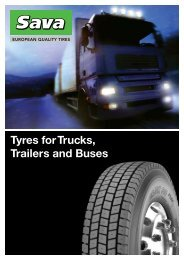 Tyres for Trucks, Trailers and Buses - Fleet first