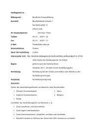 Fachlagerist/in - Berufsbildenden Schulen 1 Celle